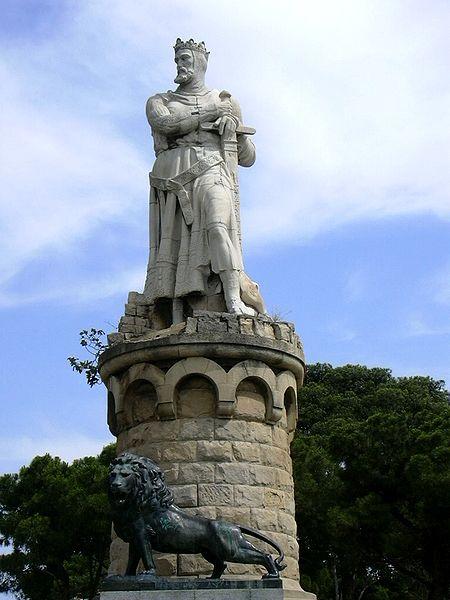 Soubor:Zaragoza - Estatua Alfonso I el Batallador.jpg