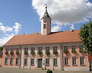 Zehdenick Place in Brandenburg, Germany