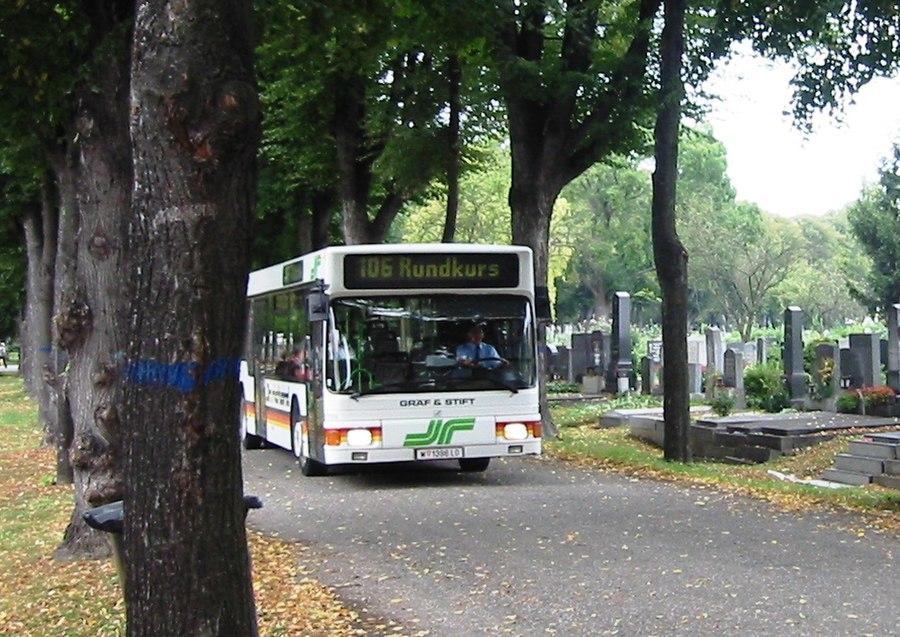 Zentralfriedhof Friedhofsbus