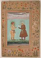 """Jahangir and his Father, Akbar"", Folio from the Shah Jahan Album MET sf55-121-10-19a.jpg"