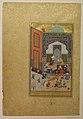 """Laila and Majnun in School"", Folio 129 from a Khamsa (Quintet) of Nizami MET sf13-228-7-7.jpg"