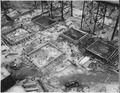 """""""The area near the west abutment and powerhouse site in which the first pour of concrete was made. A completed pour... - NARA - 294146.tif"""
