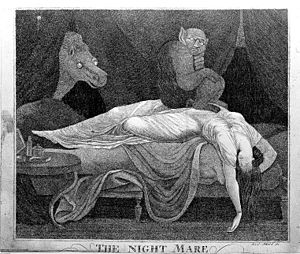 'The Nightmare', by M.Z.D. Schmid Wellcome L0003603.jpg