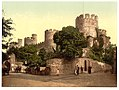 (Castle entrance, Conway (i.e. Conwy), Wales) LOC 3752435376.jpg