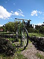 (Parque La Carolina) Gigantic Bicycle, pic a1.JPG
