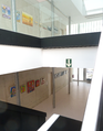 Área de exposiciones del Civivox San Jorge - Sanduzelaiko Civivoxeko erakusketa-eremua.png