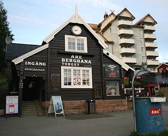 Åre Bergbana - Åre Town Square station