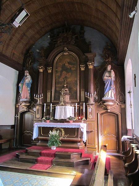 Église Notre-Dame de fr:Coulouvray-Boisbenâtre