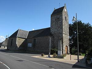 L'église Saint-Ouen.