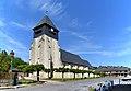 Église de l'Assomption de Notre-Dame de Bonneville-la-Louvet. Vue sud-ouest.jpg