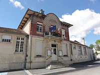 Évergnicourt (Aisne) mairie.JPG
