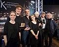 Österreichischer Kabarettpreis 2016 Preisträger RaDeschnig, Hosea Ratschiller, Thomas Maurer, Lisa Eckhart, Oliver Baier, Gerhard Haderer.jpg