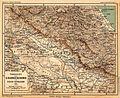 Übersicht von C. Raddes Reiseweg in Trans-Kaukasien 1885.jpg