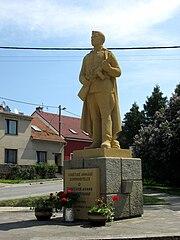 pomník vojákům Rudé armády