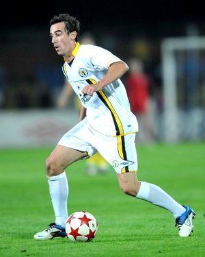 Đorđe Lazić - Lazić with Metalurh Donetsk in 2011