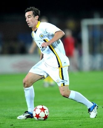 Đorđe Lazić - Lazić with Metalurh Donetsk in 2011