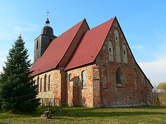 Żelazna Góra - Village church