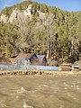 Алағуян йылғаһы ташҡыны (Полноводье в деревне).jpg