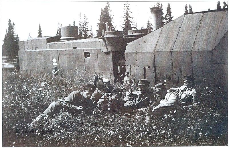 Файл:Бронепоезд Сибиряк Колчака лето 1919.jpg