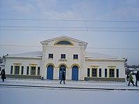 Город Пильна железнодорожный вокзал.JPG