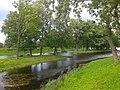 Канал с островами возле павильона Озерки.jpg
