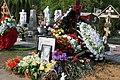Могила Андрея Панина на Троекуровском кладбище Москвы.JPG