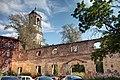 Остатки кафедрального собора, Часовая башня, 22.08.2009 - panoramio.jpg