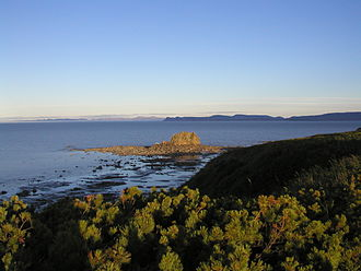 Penzhina Bay - The rugged coast of the bay.
