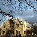Петергоф Парк Адександрия Дворец Коттедж Осень.jpg