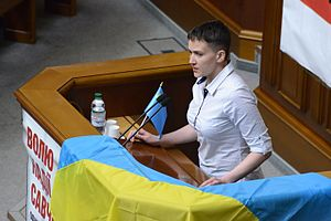 Nadiya Savchenko - Savchenko in Parliament of Ukraine, 31 May 2016