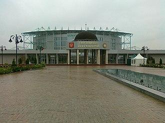 Akhmat-Arena - Image: Спорткомрлекс им. А,А Х Кадырова