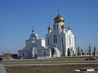 Starooskolsky District - Church of the Nativity
