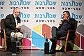 """אבי גבאי בראיון לעיתונאי רועי כ""""ץ באירוע שבתרבות באר שבע.jpg"""