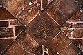 המצודה ההוספיטלרית בעכו - ראש הקימרון הצולב, נקודת מפגש הקשתות, בחדר האוכל.JPG