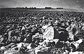 חצרים (קלטה) - בין רגבי האדמה השוממה שנחרשו בנגב, מרחוק הנקודה הבנויה-JNF024744.jpeg