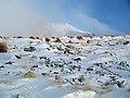 بارش برف در روستای جاسب قم- قله ولیجیا 15.jpg