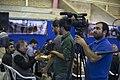 تیم خبری رسانه یک همایش در قصر شیرین برای مناطق زلزله زده کرمانشاه ء Media Of Iran-Kermanshah-Qasr Shirin 03.jpg