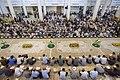 عکس های مراسم ترتیل خوانی یا جزء خوانی یا قرائت قرآن در ایام ماه رمضان در حرم فاطمه معصومه در شهر قم 25.jpg