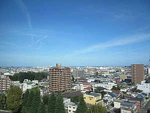 Sky line of Hachinohe