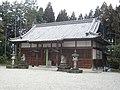大淀町下渕 八幡神社拝殿 Hachiman-jinja, Shimobuchi 2011.3.06 - panoramio.jpg