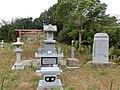 英霊慰霊碑と神社 三ヶ根山 - panoramio.jpg