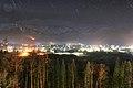 長野県神城断層地震翌朝の白馬・白馬ハイランドホテルからの景色 01.jpg