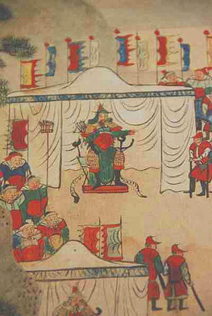 Goryeo - General Yun Gwan (1040-1111) and his army.