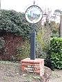 -2019-11-15 The village sign, Tuttinghton, Norfolk.JPG