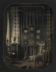 [The Salon of Baron Gros]