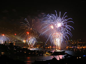 Port Jackson - The harbour is the focal point for the Sydney New Year's Eve celebrations