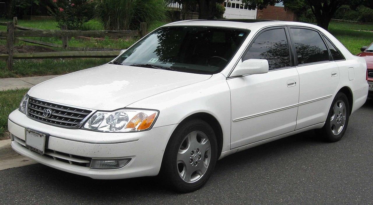 Toyota Avalon Xle Touring