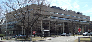 Harvard Graduate School of Design - Gund Hall, designed by architect John Andrews in 1972, is the home of the Harvard Graduate School of Design