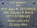 037 Plougastel Chapelle Saint-Claude Plaque commémorative.JPG