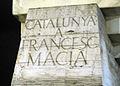 061 Catalunya a Francesc Macià, de Subirachs (pl. Catalunya).jpg